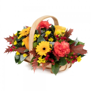 Flowers by Ann - Autumn Hedgerow Basket