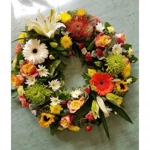 Flowers by Ann - Autumn wreath 50.00