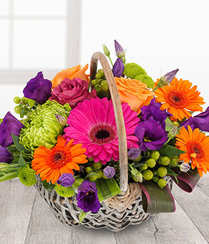 Flowers by Ann - Brilliant Basket 39.95