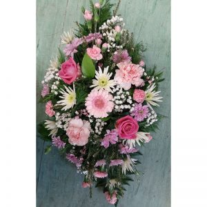 Flowers by Ann - Pink delight Spray 35.00