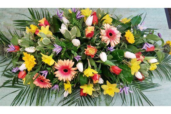 Flowers by Ann - Seasonal spray 60.00