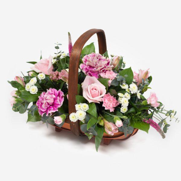 Alica basket of flowers